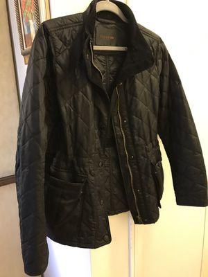 Coach pleated black rain coat size S for Sale in Washington, DC