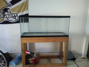 Fish tank and stand for Sale in Clifton, CO