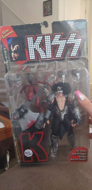 Kiss ultra action figure for Sale in Goodyear, AZ