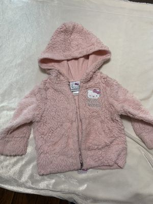 12 Month Hello Kitty pink furry sweater for Sale in Riverside, CA