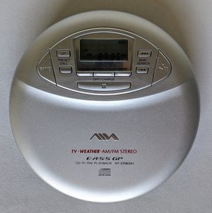 AIWA XP-ER800N Portable CD Player AM/FM Radio TV/Weather Stereo CD-R/RW Retro Sony Corporation for Sale in Coppell, TX
