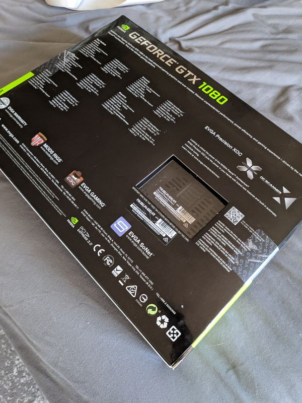Superclocked 2 - EVGA - GeForce GTX 1080 - 8Gb Graphics Card- VR, 4K, 240hz able (w FREE CPU COOLER!!)