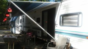 2001 trailer 08 club car gas 1yr old shed .. Lots of extras for Sale in Warren Park, IN