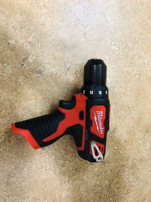 Milwaukee drill driver 3/8 M12 for Sale in Anaheim, CA