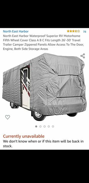 Motorhome cover for Sale in North Las Vegas, NV