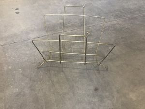Metal magazine rack for Sale in Fresno, CA