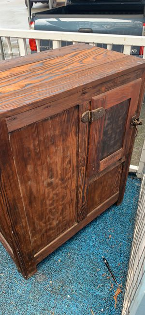 Antique ice box for Sale in Bothell, WA