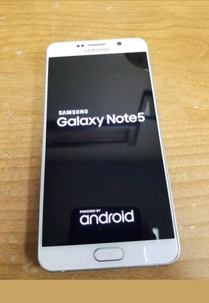 64gb exellent condition note 5 galxi unlocked for Sale in Herndon, VA