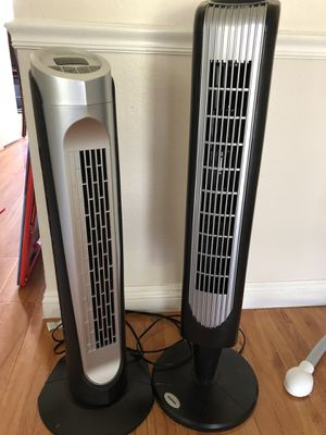 Three speed tower fans for Sale in Stanton, CA