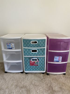 Plastic storage drawer for Sale in Schaumburg, IL
