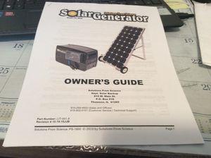 PS 1800 Solar Generator for Sale in Huntertown, IN