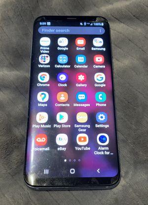 Verizon Samsung galaxy S8 plus for Sale in Fresno, CA