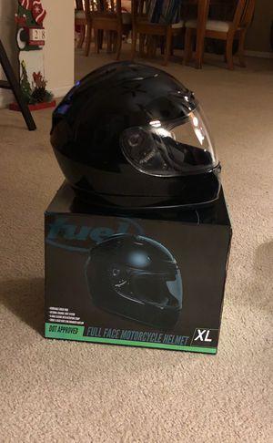 Fuel xl motorcycle helmet DOT approved for Sale in Frostproof, FL