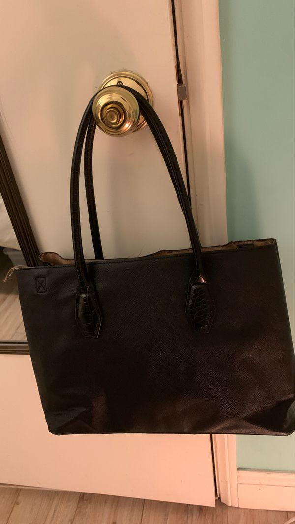 Large black purse