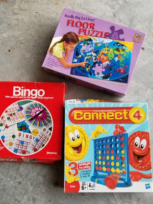 Games and puzzle 3 for $5 for Sale in League City, TX