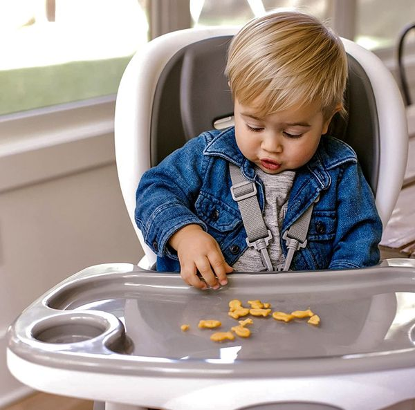 *NEW* Ingenuity SmartClean Trio Elite 3-in-1 High Chair - Slate - High Chair, Toddler Chair, Booster