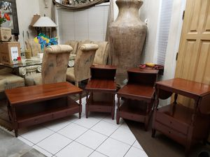 Antique Vintage Midcentry 1950s Pennsylvania House Cherry tables furniture for Sale in Glendale, AZ