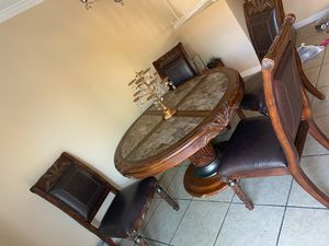 Dining table 4 chairs for Sale in Jamul, CA