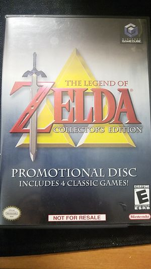 The Legend of Zelda Collector's Edition Gamecube game for Sale in San Jose, CA
