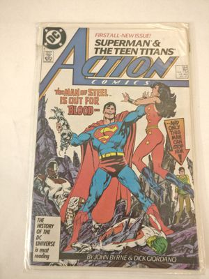 Action comics, Superman first issue, man of steel novel for Sale in Brooklyn, NY
