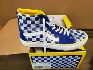 Vans Michelin x Sk8-Hi Street Tread Pack Sz9.5 LIMITED EDITION for Sale in West Springfield, VA