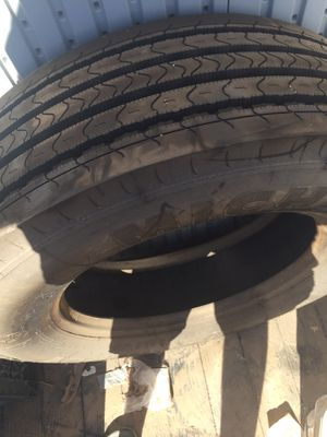 Michelin motorhome tire. Almost new has 200 miles on it. Purchased new for over $700 new. Approximately 3 years ago stored inside since then size is for Sale in Henderson, NV
