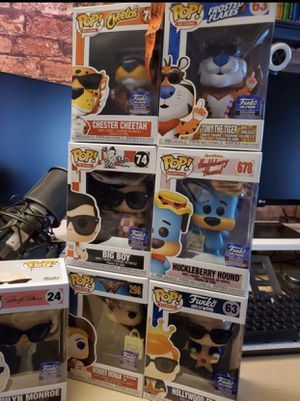 FUNKO HOLLYWOOD EXCLUSIVES. TAKE ALL FOR $180 for Sale in Fresno, CA