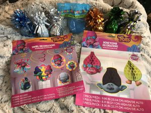 Trolls party bundle for Sale in Billerica, MA