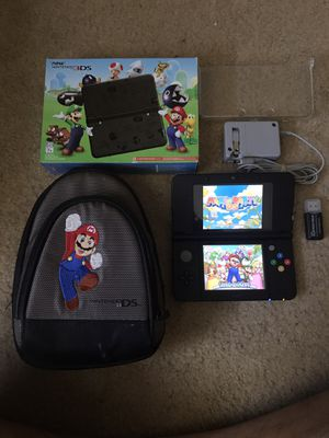 Nintendo 3DS Mario Edition With R4 Custom for Sale in Houston, TX