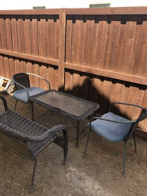 Patio set for Sale in Clovis, CA