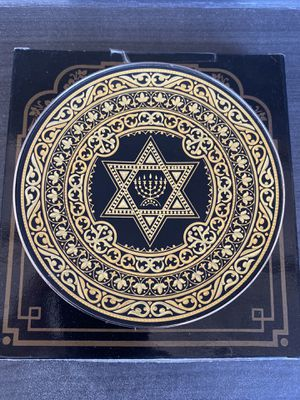 Anframa Damascene plate 12 cm like new includes now for Sale in Phoenix, AZ