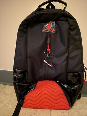 Jordan Retro 11 Bred Backpack Black Red for Sale in Tracy, CA