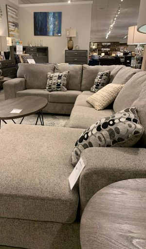 Ballinasloe Platinium Sectional /couch living room set / same day delivery for Sale in Houston, TX
