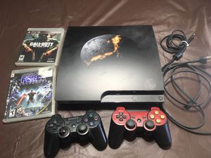 PS3 console and games for Sale in Chula Vista, CA