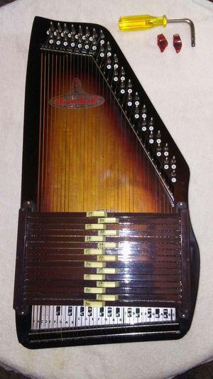 Rhythm Band Bluegrass ChromaHarp 15 Chord Autoharp Natural for Sale in Tacoma, WA