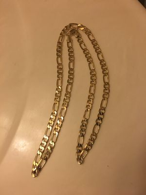 14 k figaro chain for Sale in Silver Spring, MD