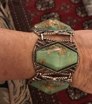 Very RARE 1950's confetti bracelet. Mint condition for Sale in Beverly Hills, CA