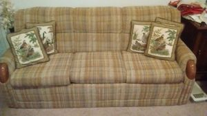 Lazy Boy Couch w/ Queen Size Hideaway Bed for Sale in Alexandria, LA