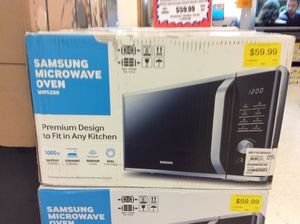 Samsung 1.1 cu. ft. Countertop Microwave Oven with sensor for Sale in Nashville, TN