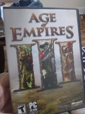 Age of empires 3 for Sale in Medina, NY