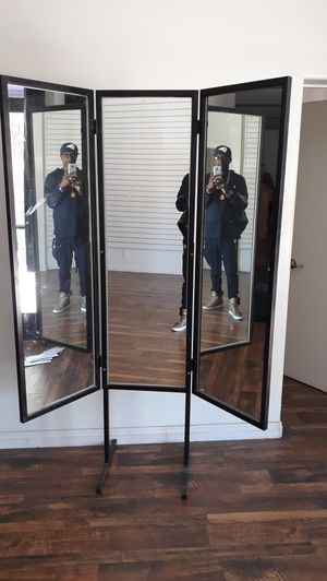 Antique 3 way mirror for home or clothing store for Sale in Inglewood, CA