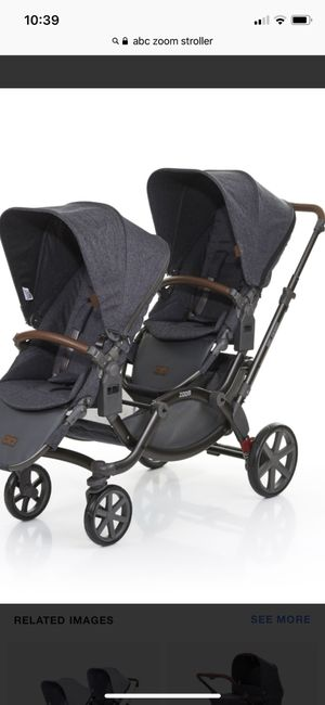ABC Zoom stroller (double pram) for Sale in Brooklyn, NY