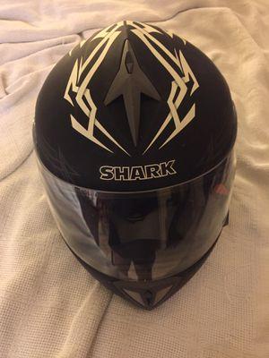 Custom Shark motorcycle helmet for Sale in Alexandria, VA