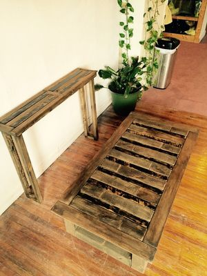 Reclaimed wood coffee and console tables for Sale in Columbus, OH
