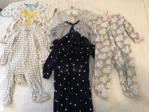 Pajamas's - Baby Girl (0-9 months) for Sale in St. Louis, MO