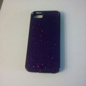 Selling sparkly purple iphone 5s caseing for Sale in Orlando, FL