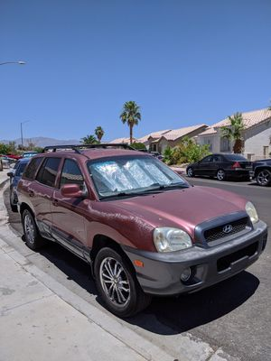 Hyundai, Santa Fe for Sale in Las Vegas, NV