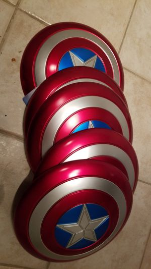 Captain America metallic shield for Sale in Port St. Lucie, FL