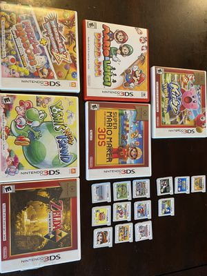 Nintendo 3DS games priced individually below for Sale in Torrance, CA