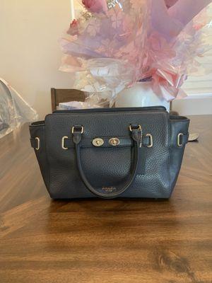 Coach small Mercer satchel Shoulder Bag Navi blue for Sale in Temple City, CA